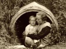 Indringende foto van schuilend gezin in Markelo een van meest bijzondere oorlogsfoto's uit Overijssel