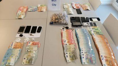 Vier verdachten van drugsdealen gearresteerd