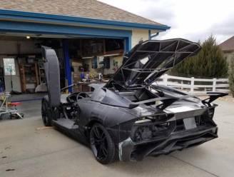 Vader en zoon bouwen met 3D-printers hun eigen (spotgoedkope) Lamborghini