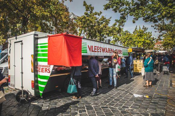 slagerij Geers op de Vrijdagsmarkt