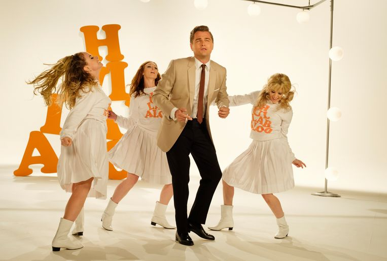 Leonardo DiCaprio in Once Upon a Time in Hollywood.  Beeld