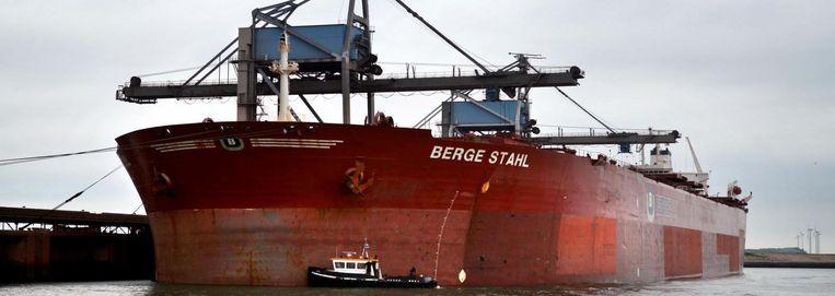De Berge Stahl in Rotterdam. Beeld Hollandse Hoogte