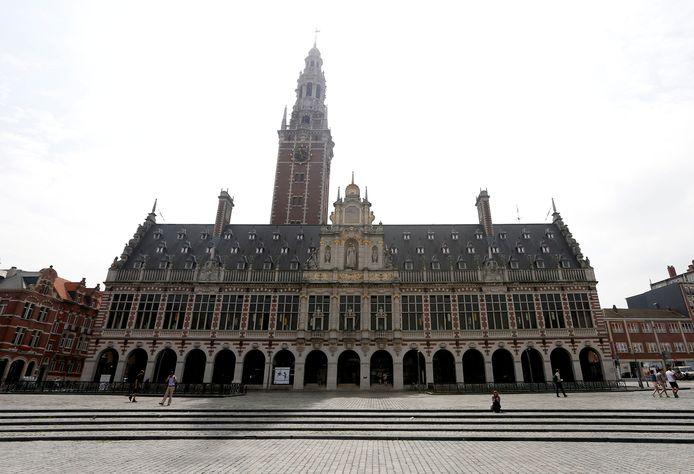 La bibliothèque de la KU Leuven.