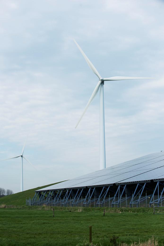 De ontwikkeling van een plan voor een nieuw windmolenpark in Waalwijk gaat gewoon door.