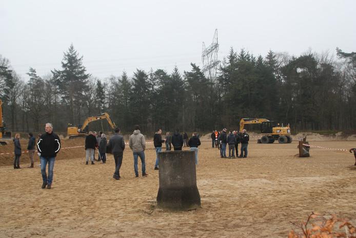 Tijdens de open dag van het SOMA-college konden belangstellenden onder meer het buitenterrein van de opleiding in Harderwijk verkennen.