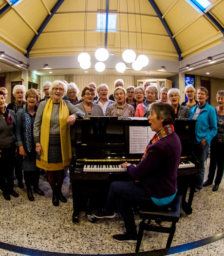 Concert van jubilerend gemengd koor Vivace heeft een zwart randje