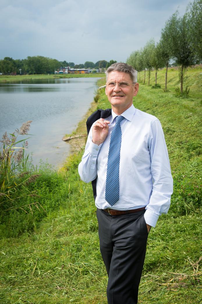 De nieuwe dijkgraaf van waterschap Brabantse Delta, Kees Jan de Vet.
