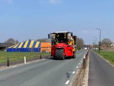 Chauffeurs vrachtverkeer worden moedeloos van 'te smalle' Esbeekseweg in Hilvarenbeek
