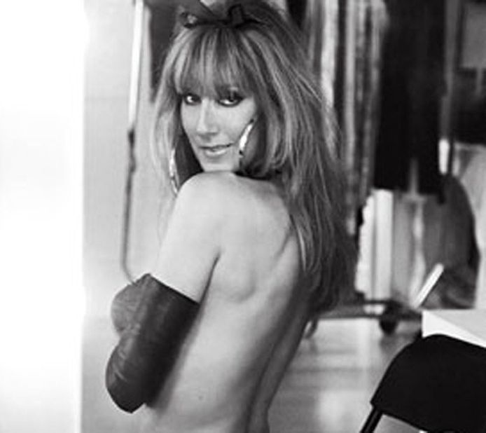 Celine Dion laat zich van haar stoutste kant zien in de fotoshoot met V Magazine.