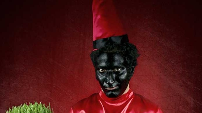 Hajji Firuz of de 'Perzische Zwarte Piet'.
