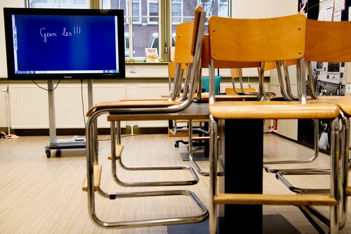 Op een groot aantal scholen in Arnhem en omgeving is donderdag en vrijdag geen les in verband met de staking in het onderwijs.