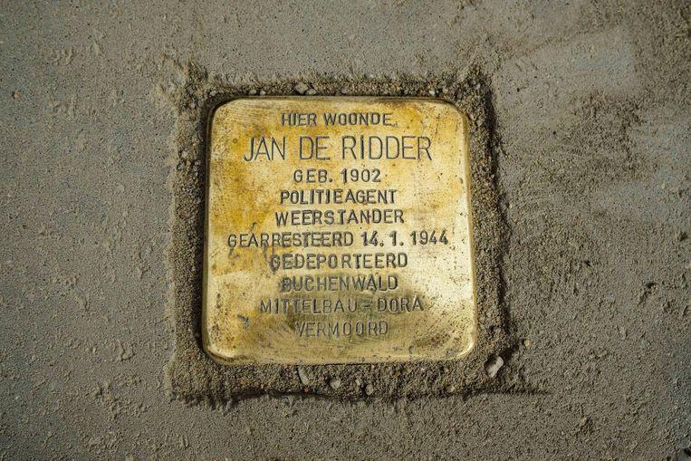 Verzetsman Jan De Ridder stierf in kazerne Boelcke in Nordhausen op 9 maart 1945.