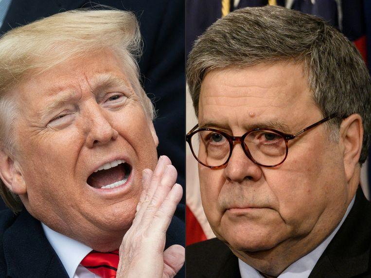 Barr ligt bij vriend en vijand onder vuur vanwege het aanpassen van een strafeis waarbij het leek alsof hij dat deed op verzoek van Trump.