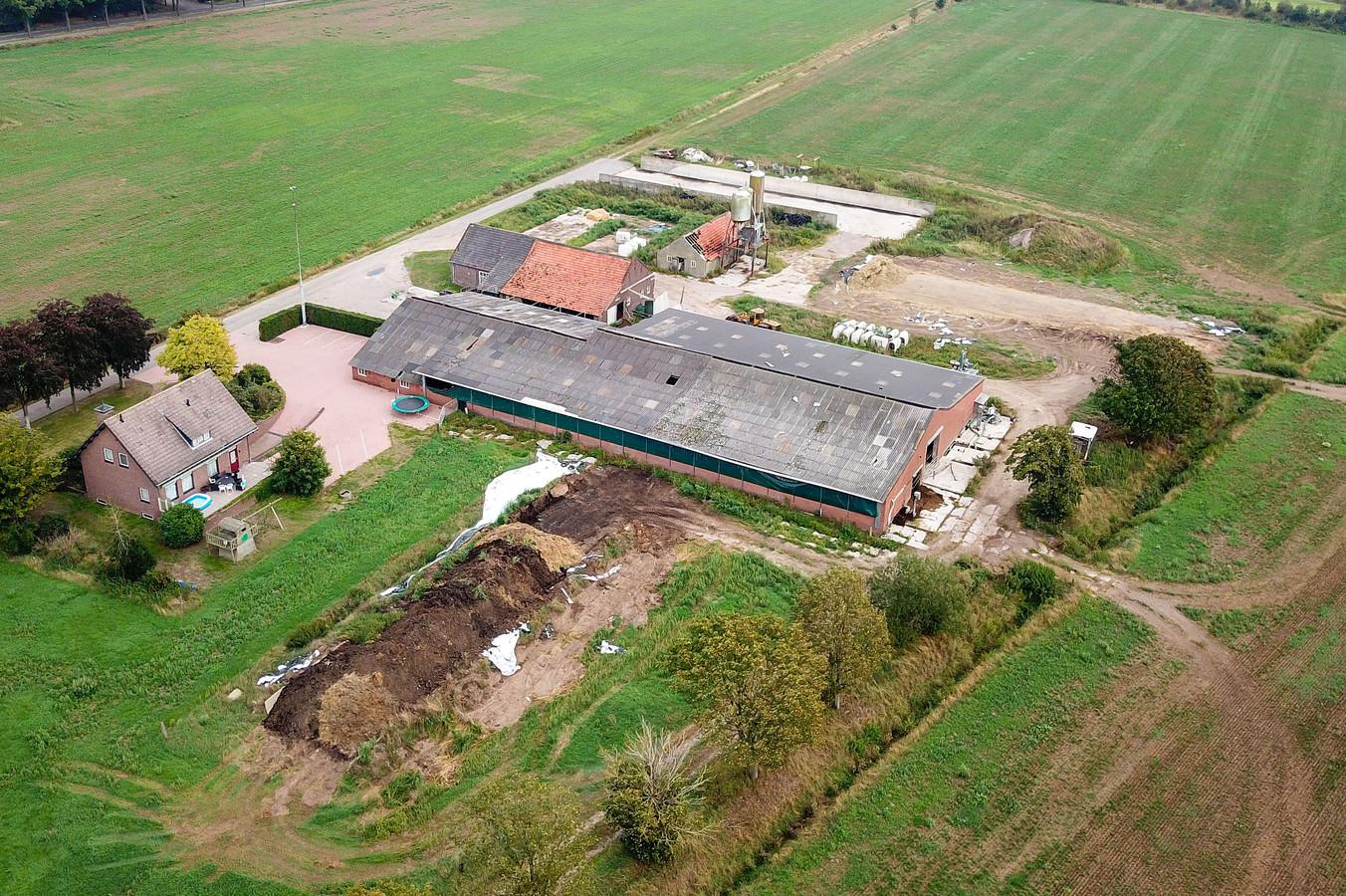Boerderij aan de Slobeendweg in Heusden.