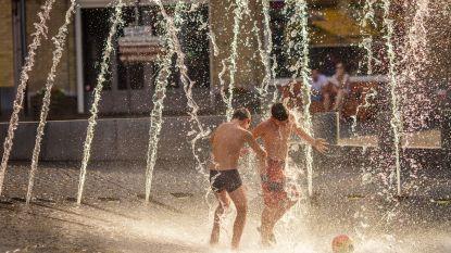Morgen exotische temperaturen tot 30 graden, maar weekend eindigt gevoelig frisser