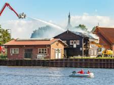 Politie denkt aan brandstichting bij brand oude scheepswerf in Hasselt, contact met belangrijke getuigen