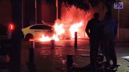Verdachte van brandstichtingen aan politievoertuigen onder aanhoudingsmandaat geplaatst