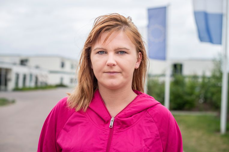 De Poolse Paulina Karys moest haar uitzendbureau Efficient at Work 100 euro per week voor een bed betalen. Beeld Roos Pierson