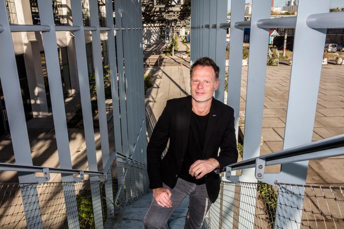 Directeur DDW Martijn Paulen op Strijp S in Eindhoven