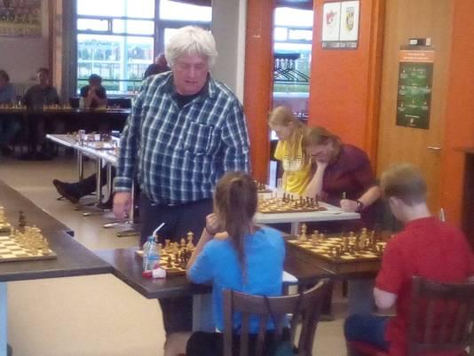 Jan Timman in Arnhem.