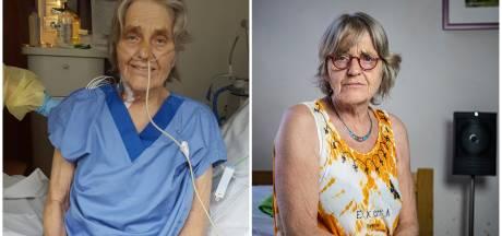 Verzorgende Ria (66) krabbelt op na coma: 'Mijn man dacht dat ik het niet zou redden'
