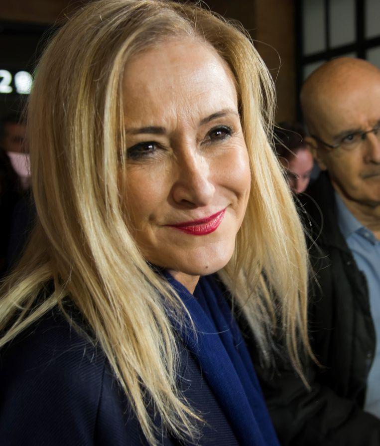 Cristina Cifuentes Beeld epa