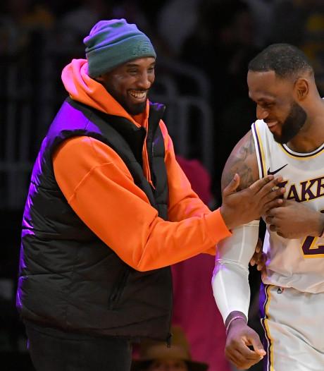 Sportwereld diep geschokt door overlijden basketballegende Kobe Bryant