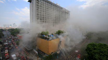 Drie doden en 23 gewonden bij grote brand in toeristenhotel in Manilla