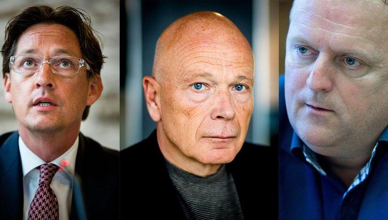 Joost Eerdmans, Peter Plasman en Richard Korver. Beeld anp