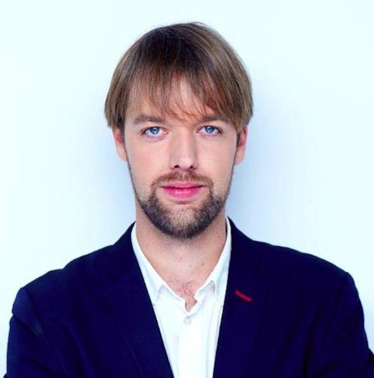 Ruslandcorrespondent Olaf Koens Beeld Twitter