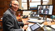 Historisch: gemeenteraad Wevelgem voor het eerst volledig digitaal en live gestreamd