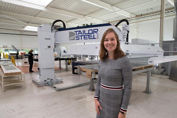 Charlotte Bulten (manager Customer Service) van 247TailorSteel.