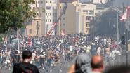 Demonstranten in Libanon rukken op naar parlement, politie schiet met traangas