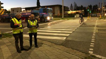 Fietstellingen om kruispunten veiliger te maken