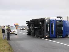 Heftige storm overvalt vooral veel buitenlandse chauffeurs