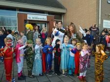 In Zierikzee doen ze niet aan carnaval, behalve op de Willibrordusschool