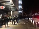 PSV-supporters bestormen stadion