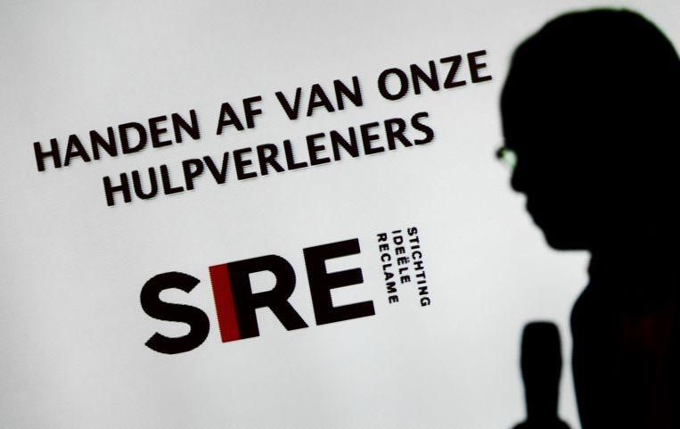 In 2012 presenteerde Sire al een campagne waarbij geweld tegen hulpverleners aan de kaak werd gesteld. Beeld ANP