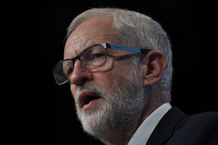 Jeremy Corbyn, voorzitter van oppositiepartij Labour.
