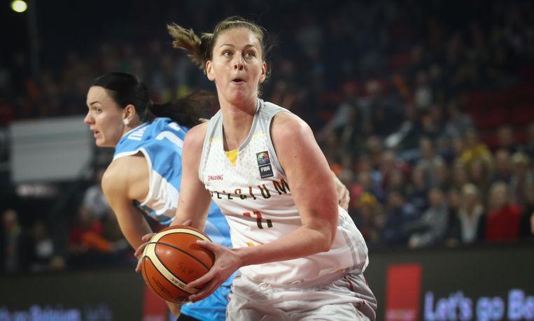 WNBA-kampioene Emma Meesseman kroonde zich tot topschutter.