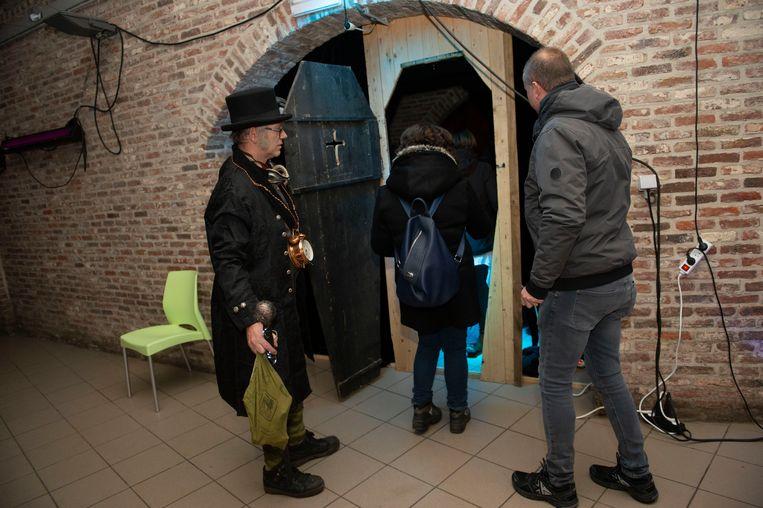 De griezeltocht van KWB Creatief in Wommelgem.