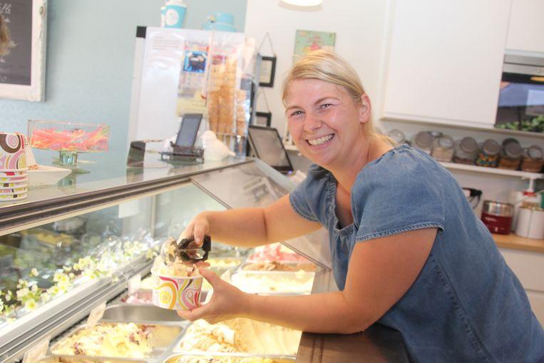 Lotte Schelfthout werd tweede. Zij startte in 2017 in Impe met Lotte's Home Made Ice-cream.
