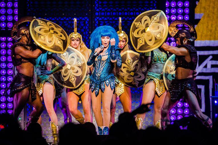 Op 30 september gaf de 73-jarige Amerikaanse zangeres Cher een concert in de Ziggo Dome. Beeld null