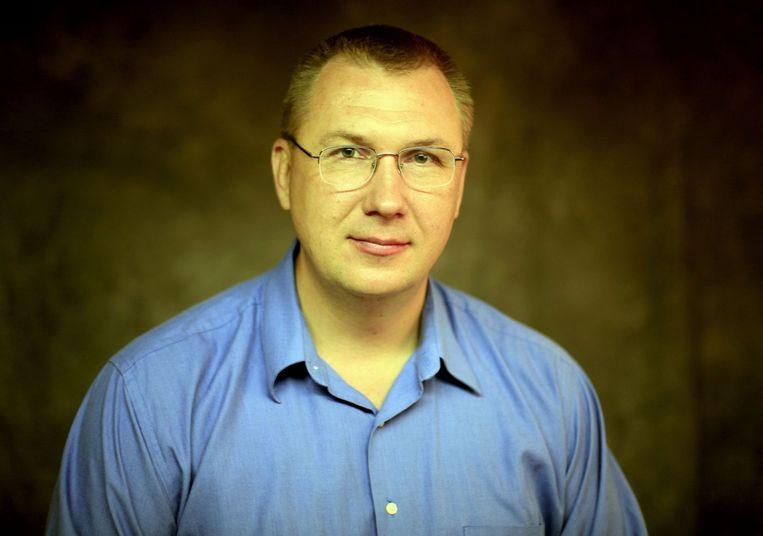 De Russische wetenschapper Vladimir Veselov. Beeld afp