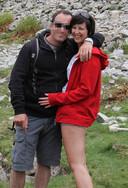 Kris V.M. en Stephanie Reybroeck in betere tijden.