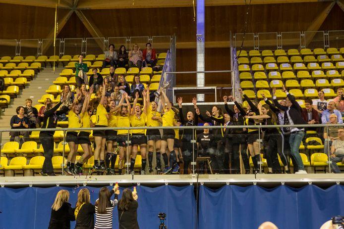 Korfbalclub Rosolo is de regerend landskampioen bij de dames in de zaal.