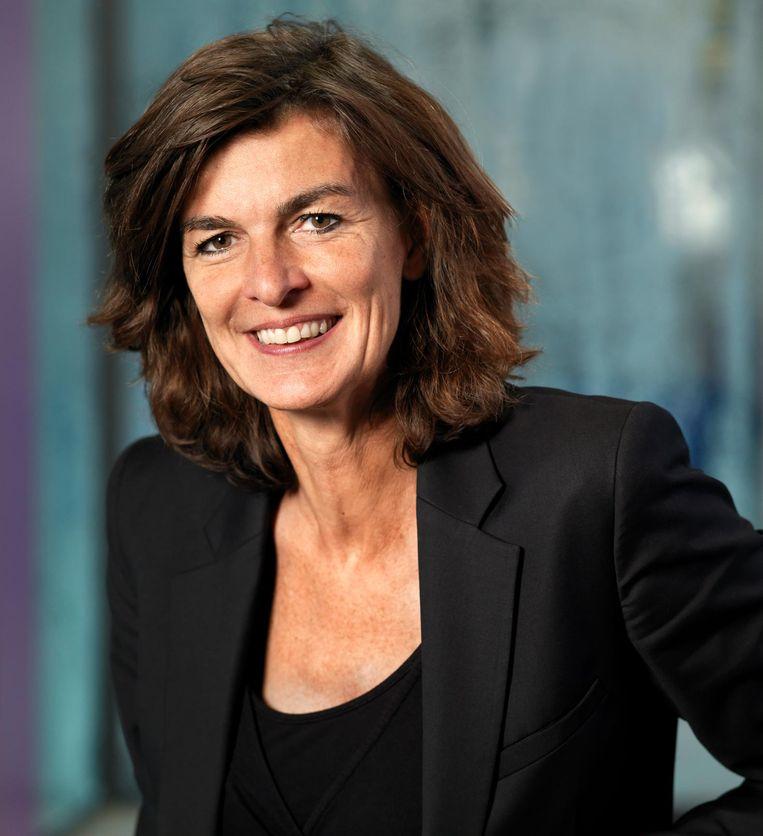 Georgette Fijneman, divisievoorzitter Zilveren Kruis: 'Wij doen experimenten waarbij kankerpatiënten chemotherapie thuis ontvangen.' Beeld Zilveren Kruis
