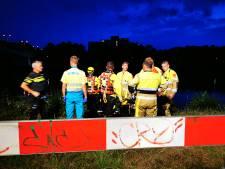 Persoon te water in Nijmegen bleek loos alarm