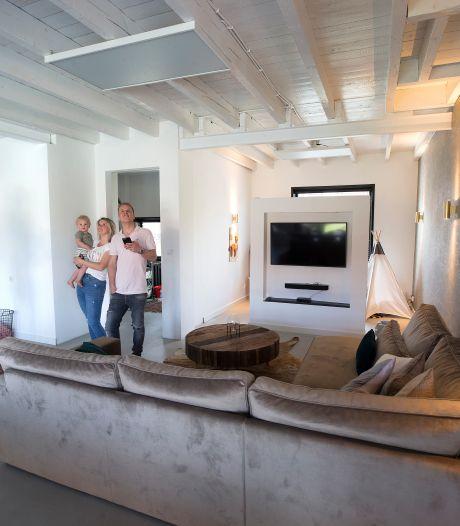 Huizen verwarmd met infrarood in 's Heerenberg: 'werkt formidabel'