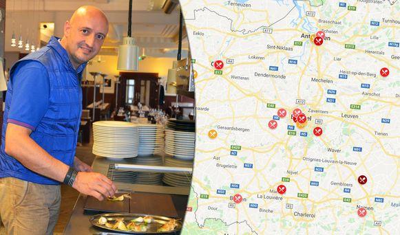 David Martin van La Paix in Anderlecht is volgens Gault&Millau de nieuwe Chef van het Jaar.